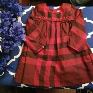 Burberry baby dress